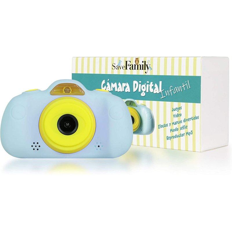 SaveFamily SaveFamilyCAM Cámara de Fotos para Niños Azul