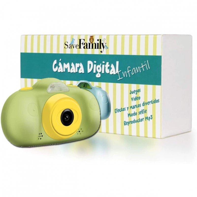 SaveFamily SaveFamilyCAM Cámara de Fotos para Niños Verde