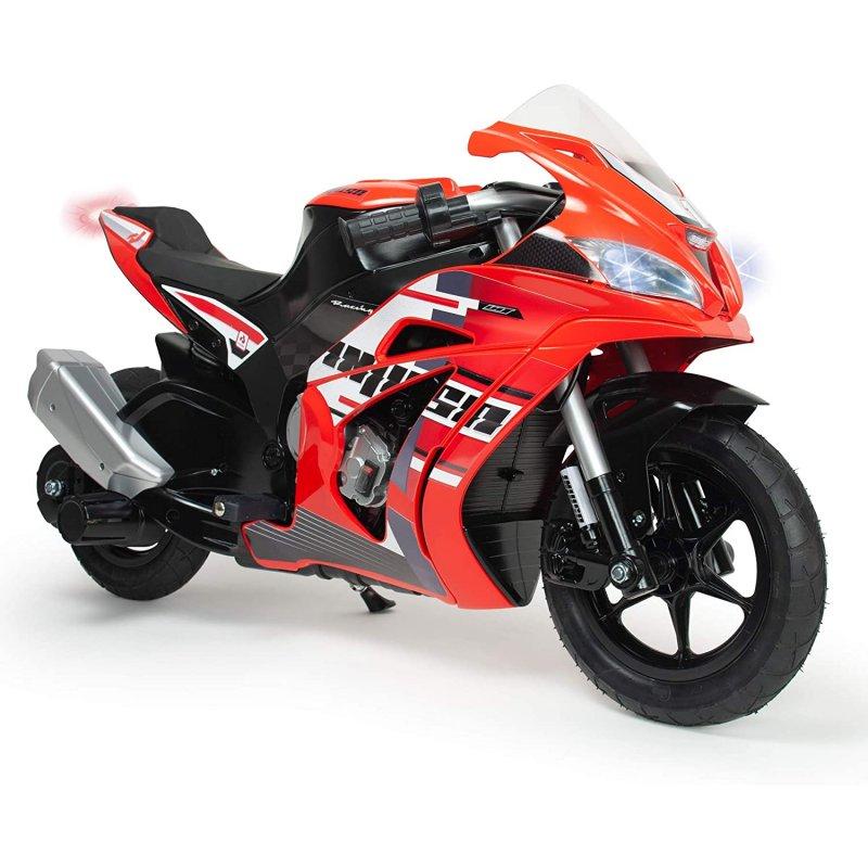 Injusa Moto Eléctrica Racing Fighter 24V Rojo/Negro