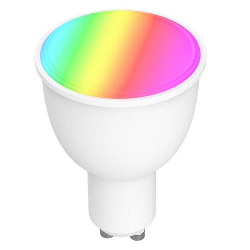 Nivian NVS-RGBWBULB-45GU10-W Bombilla LED GU10 4.5W RGB
