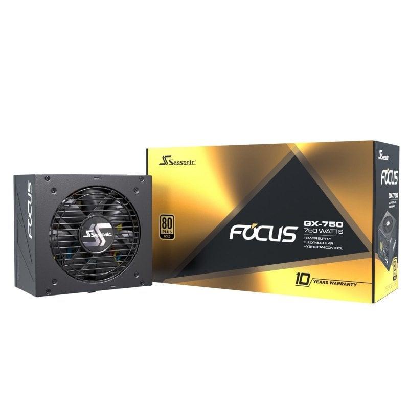 Seasonic Focus-GX 750 750W 80 Plus Gold Modular