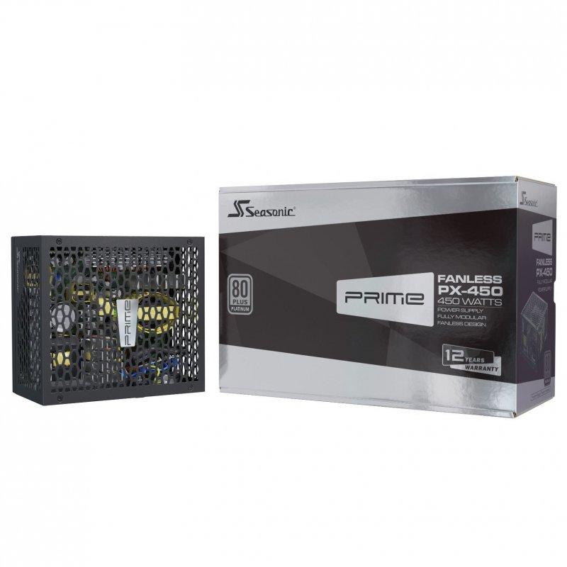 Seasonic PRIME Fanless-PX-500 450W 80 Plus Platinum Modular