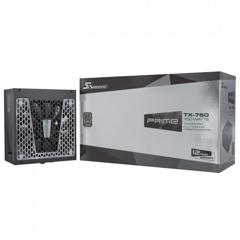 Seasonic Prime TX-750 750W 80 Plus Titanium Modular