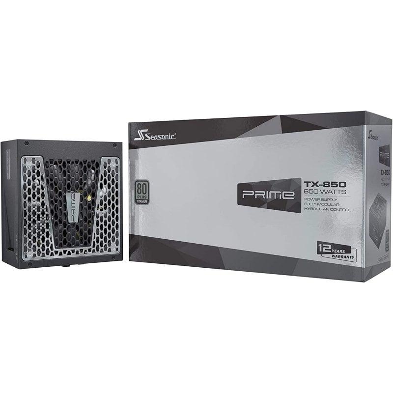 Seasonic Prime TX-850 850W 80 Plus Titanium Modular