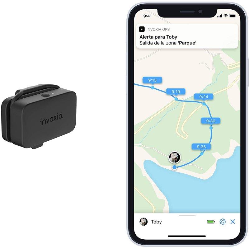 Invoxia Pet Tracker Rastreador GPS para Mascotas con Seguimiento de Actividad
