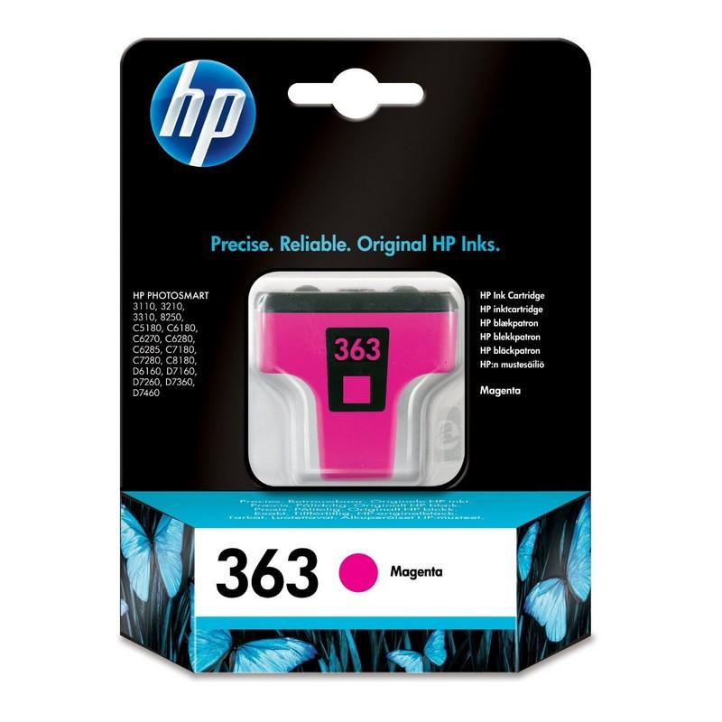 HP 363 Cartucho Tinta Original Magenta