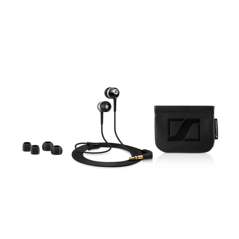 Sennheiser earbuds cx300 ii - red foam earbuds
