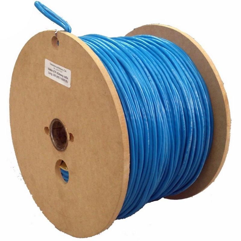 Digitus bobina 100m cable red r gido utp cat 6 10 100 1000 - Cable ethernet categoria 6 ...