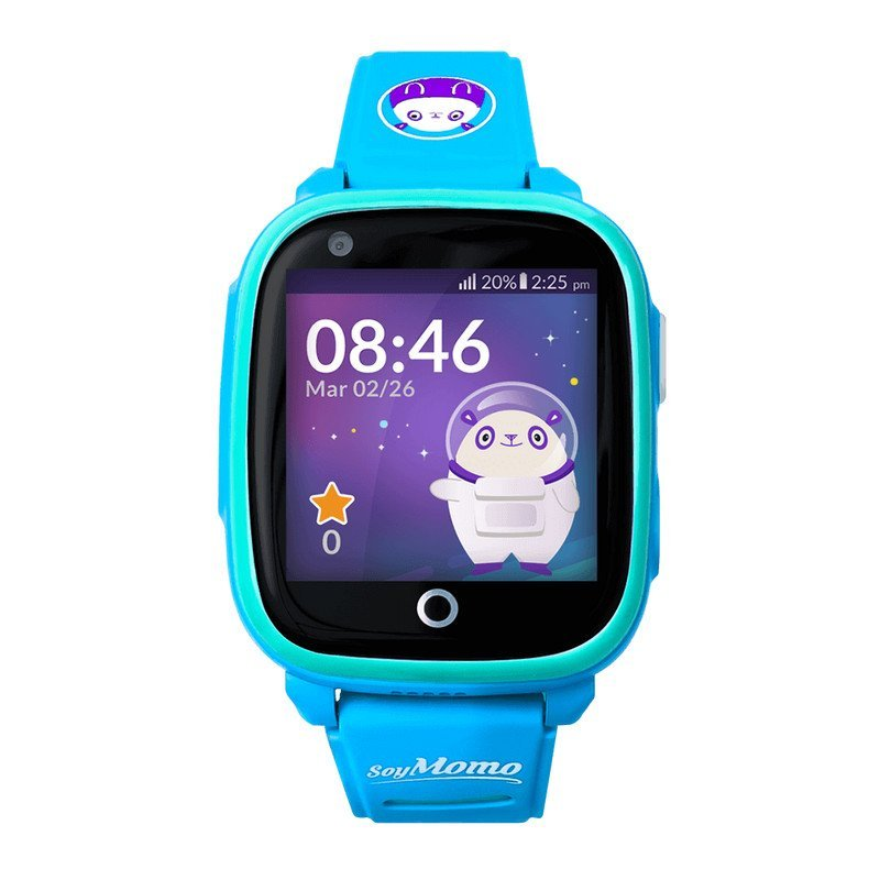 SoyMomo Space 4G  Smartwatch Para Niños Azul