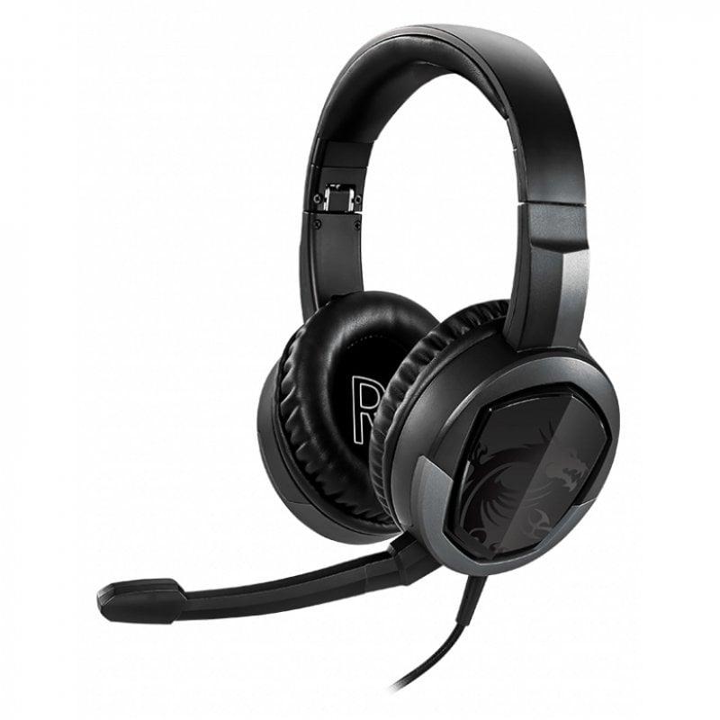 MSI Immerse GH30 V2 Auriculares Gaming Plegables Multiplataforma