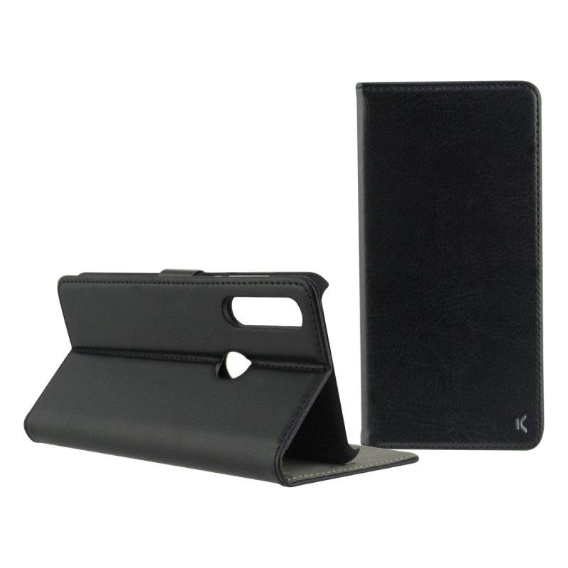 Ksix Funda Folio Standing con Cierre Magnético Negra para Xiaomi Mi A2