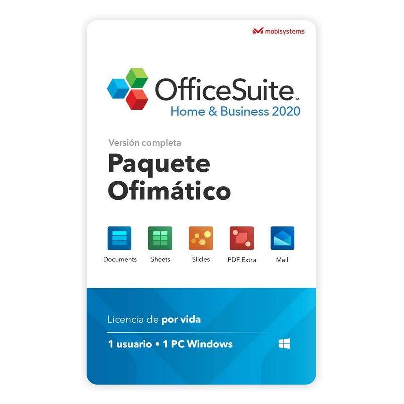 OfficeSuite Home & Business 2020 1 Usuario Licencia Completa