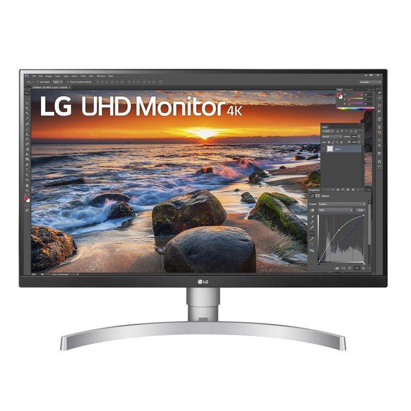 "Monitor LG 27UN83A-W 27"" LED IPS UltraHD 4K HDR FreeSync USB-C"