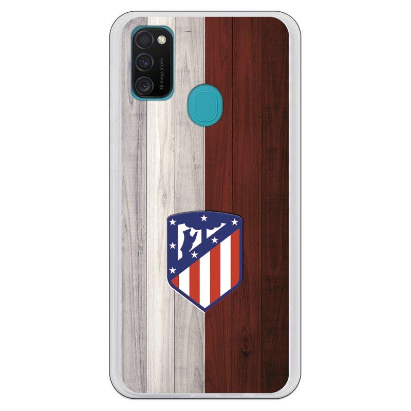 Funda Oficial Atlético de Madrid Madera para Samsung Galaxy M21