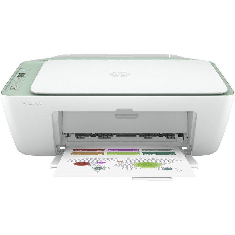 HP DeskJet 2722 Multifunción Color WiFi