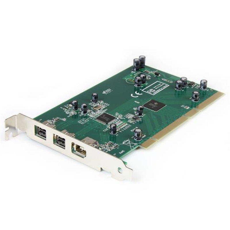StarTech PCI1394B_3 Tarjeta PCI A 3x FireWire 800/400
