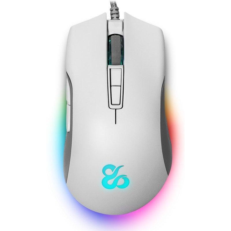 Newskill Eos Ivory Ratón Gaming Professional RGB 16000DPI Blanco