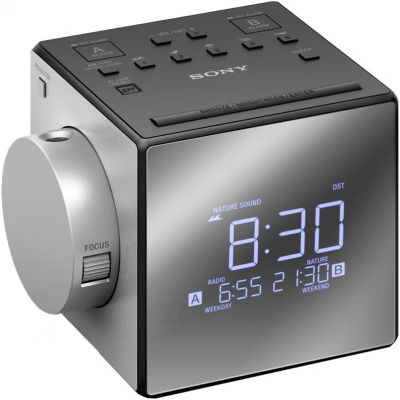 Sony ICF-C1PJ Radio Despertador con Proyector de Hora ◇ 983510