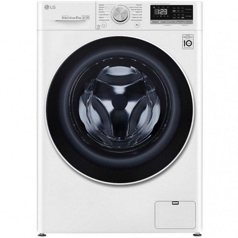 LG F4DN4009S0W Lavasecadora de Carga Frontal