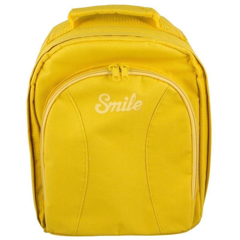 Smile Smart Mochila para Cámara Amarilla