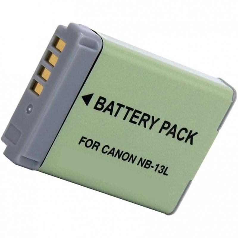 SilverHT Batería para Cámara Canon NB-13L 1250mAh