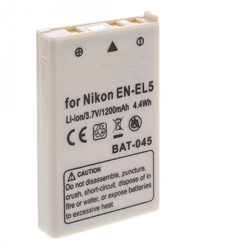 SilverHT Batería Compatible Nikon EN-EL5 1150mAh