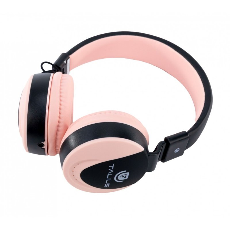 Talius HPH-5005 Auriculares Con Micrófono Rosa