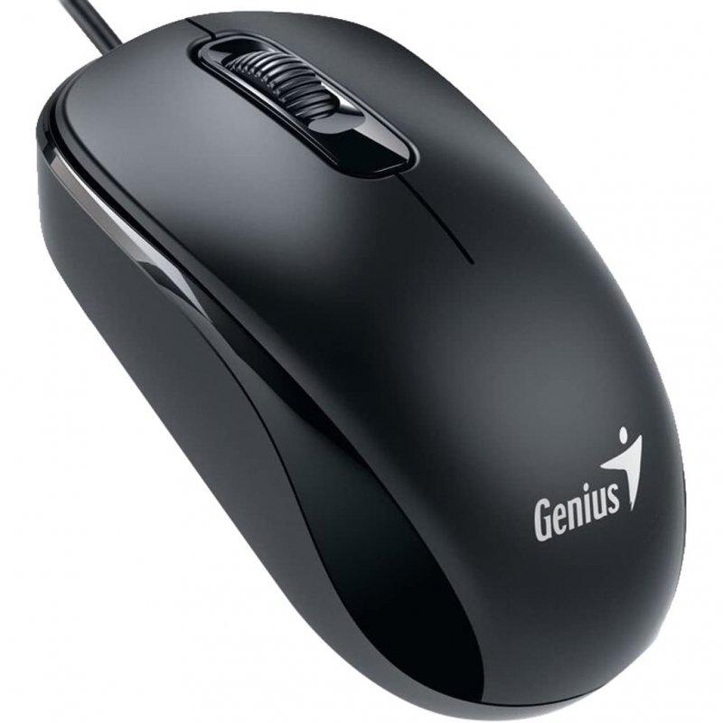 Genius DX-110 Ratón Óptico 1000 DPI Negro