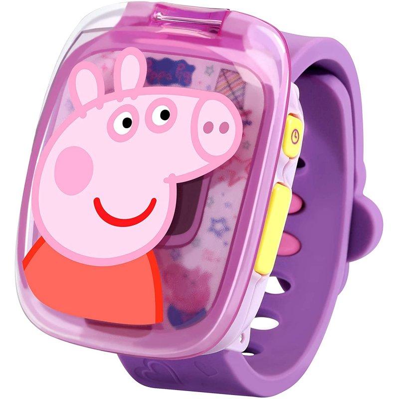 Vtech Reloj Peppa Pig Morado