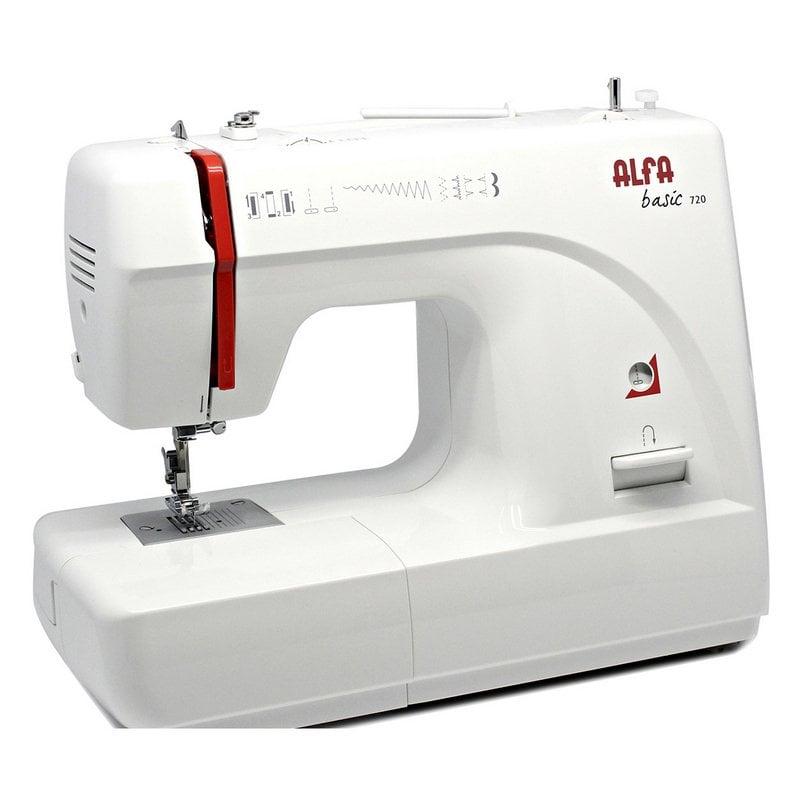 alfa basic 720 maquina de coser mecanica