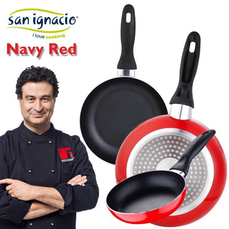 Set Sartenes Navy Black 3 piezas San Ignacio | Donurmy
