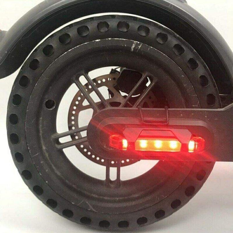 Urban Scout Luces Led Ruedas Traseras de Scooter Color Rojo Carga USB