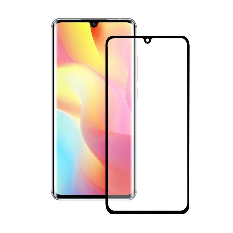 Ksix Cristal Templado 9H Full Glue 2.5D Borde Negro para Xiaomi Note 10 Lite