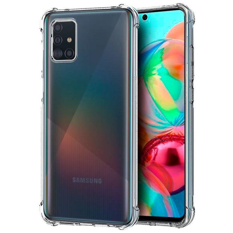 Cool Funda AntiShock Transparente Para Samsung A715 Galaxy A71