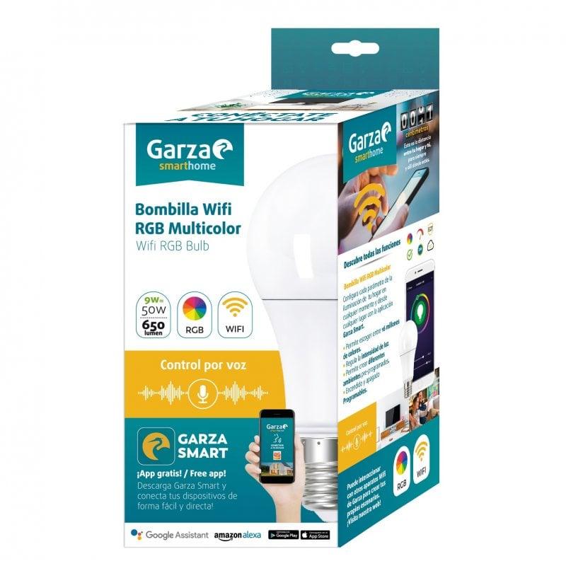 Garza Bombilla Estándar LED WiFi 9W E27 RGB