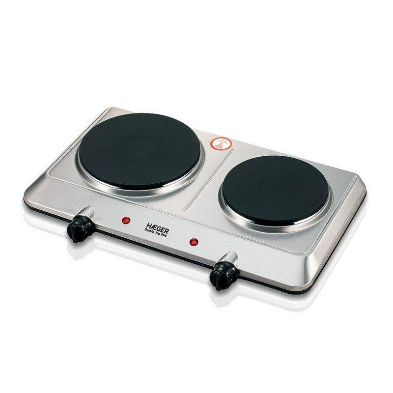 Haeger Double Pro Disc Placa Eléctrica Doble 2250W