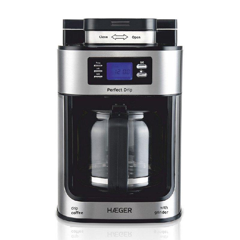 Haeger Perfect Drip Cafetera De Goteo 1.25L 1050W
