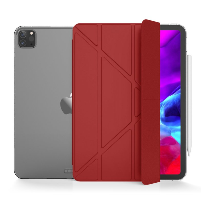 "Unotec Origami2 Funda Roja para iPad PRO 12.9"" 2020"