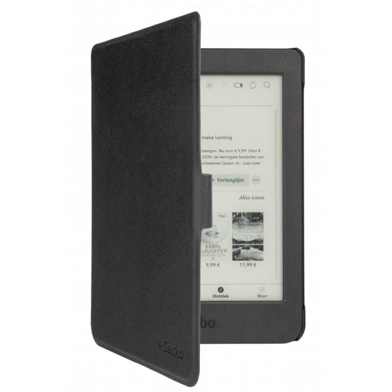 gecko easy-click 20 cover negra para kobo nia 62020