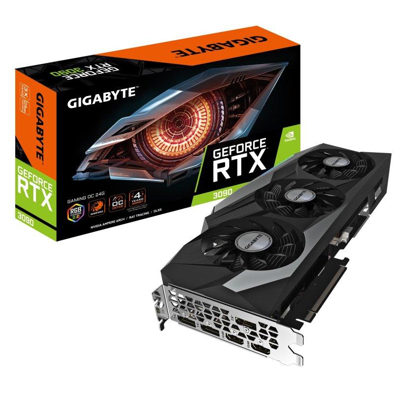 Gigabyte GeForce RTX 3090 Gaming OC 24G 24GB GDDR6X