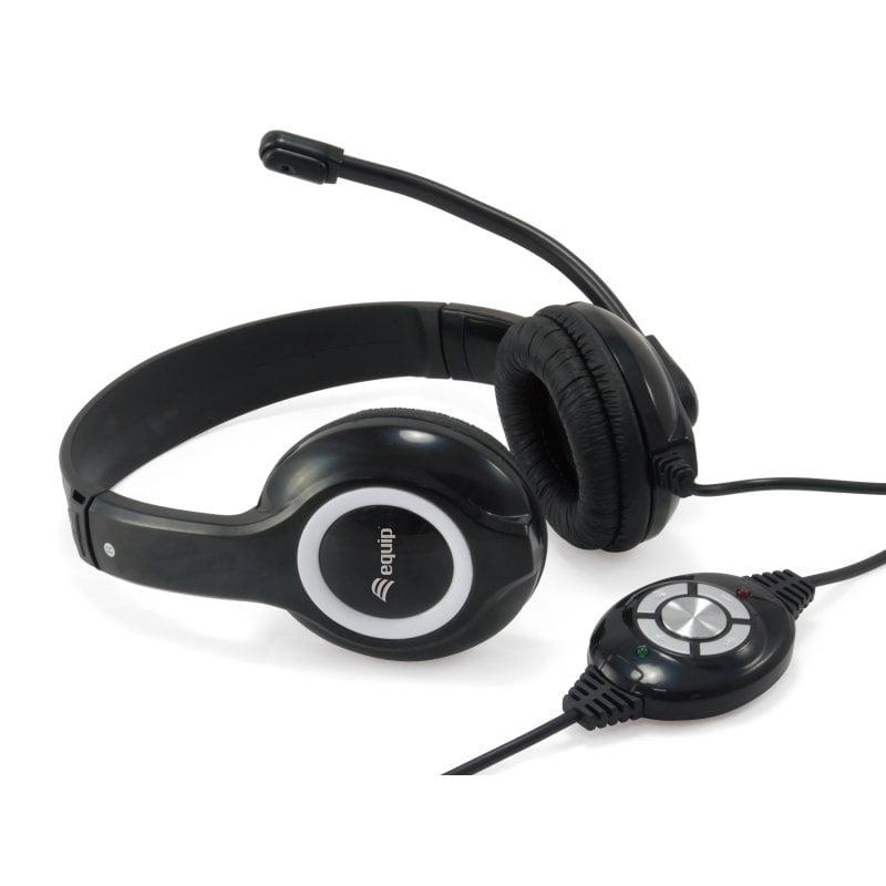 Equip 245301 Auriculares USB Con Micrófono