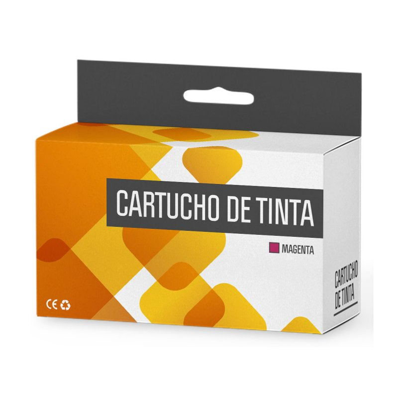 Brother LC980XL/LC1100XL/LC985XL Cartucho Tinta Compatible Magenta