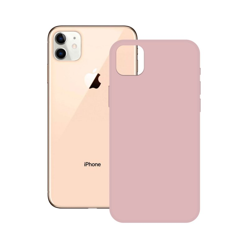 Ksix Soft Silicone Rosa para iPhone 12 Pro Max