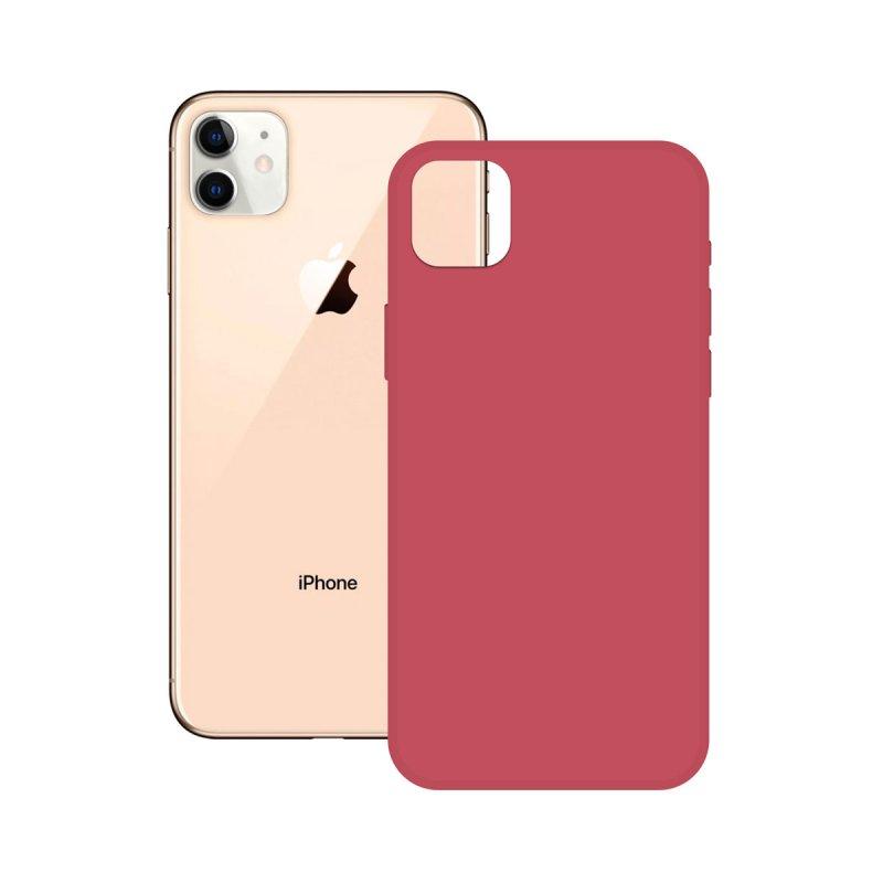 Ksix Soft Silicone Fucsia para iPhone 12 Pro