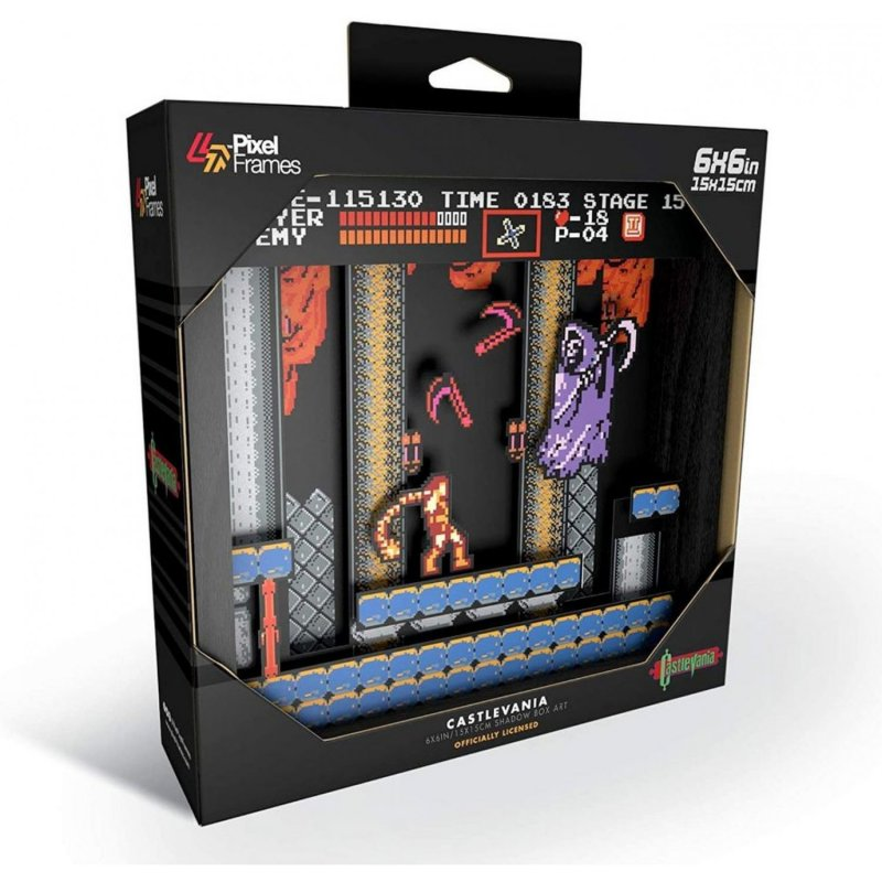 Pixel Frames Castlevania NES S