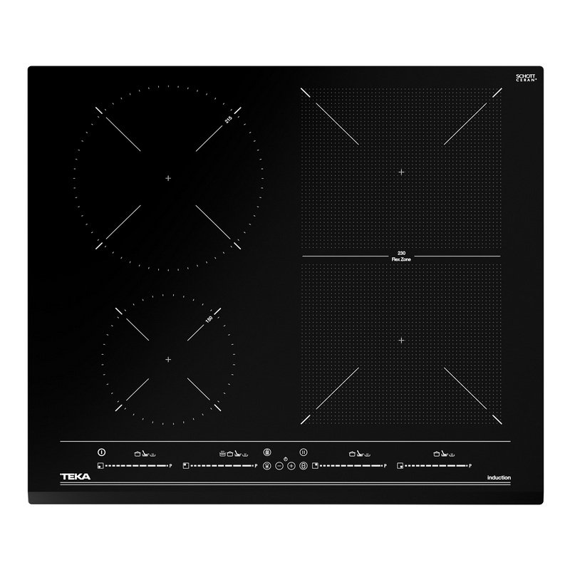 Teka IZF 64440 MSP Placa de Inducción 5 Zonas 60cm Negra - Electrodomésticos y Hogar-Encimeras-Teka