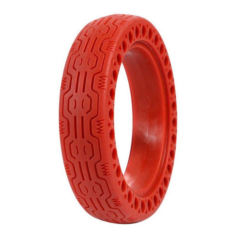 Whinck Neumático Sólido Rojo para Xiaomi M365