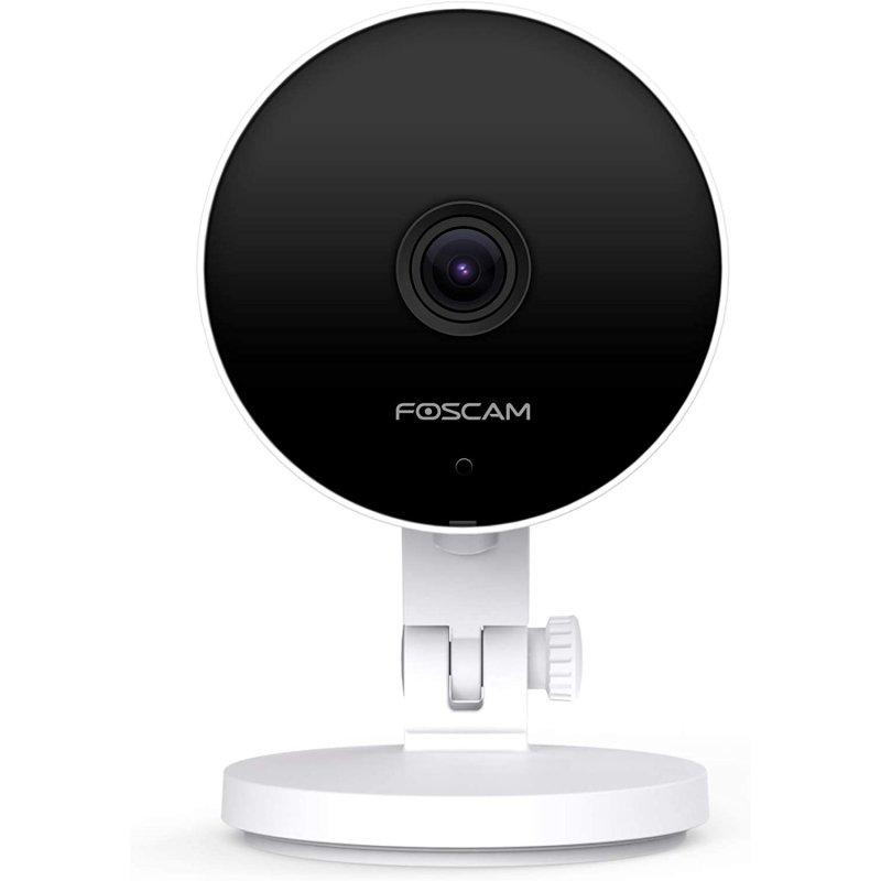 foscam c2m camara ip wifi blanca compatible con alexa