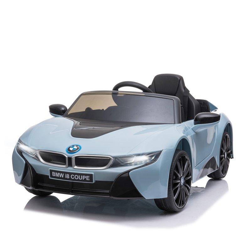 HomCom BMW i8 Coupé Coche Eléctrico Azul