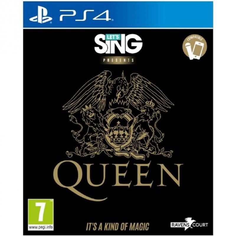 Let's Sing Queen PS4
